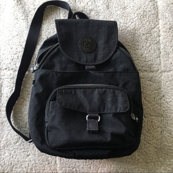f64c6c35cb7 Kipling Handbags - Small Black Kipling Backpack